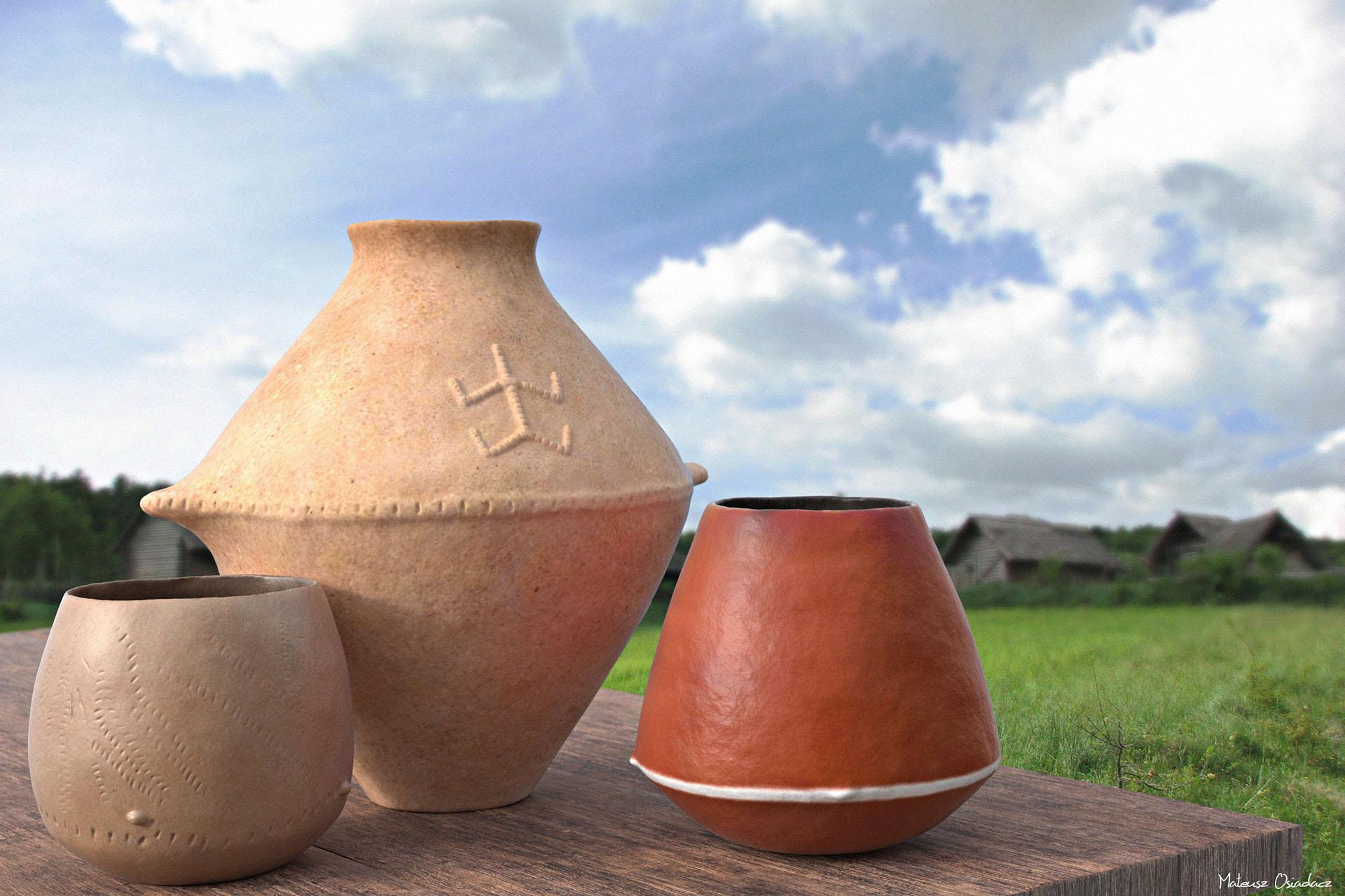 wizualizacja 3D neolitycznych zabytków ceramiki