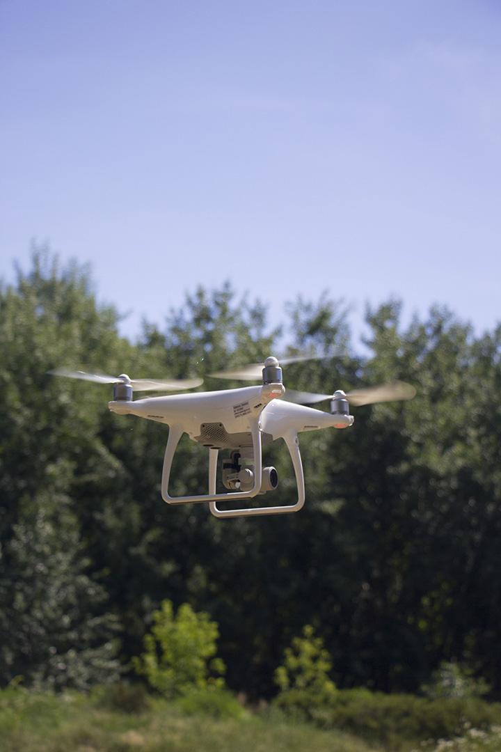 dron grodzisko