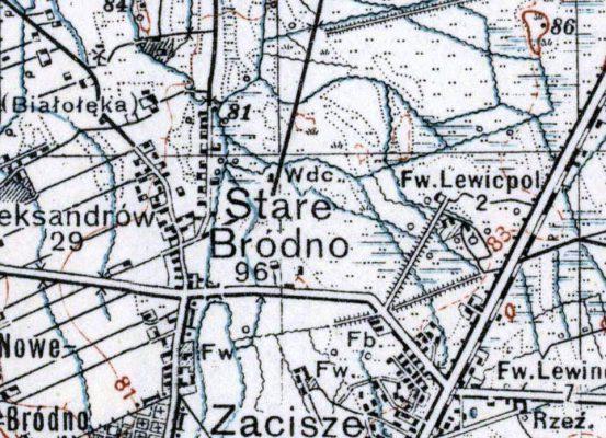 Bródno WIG 1933
