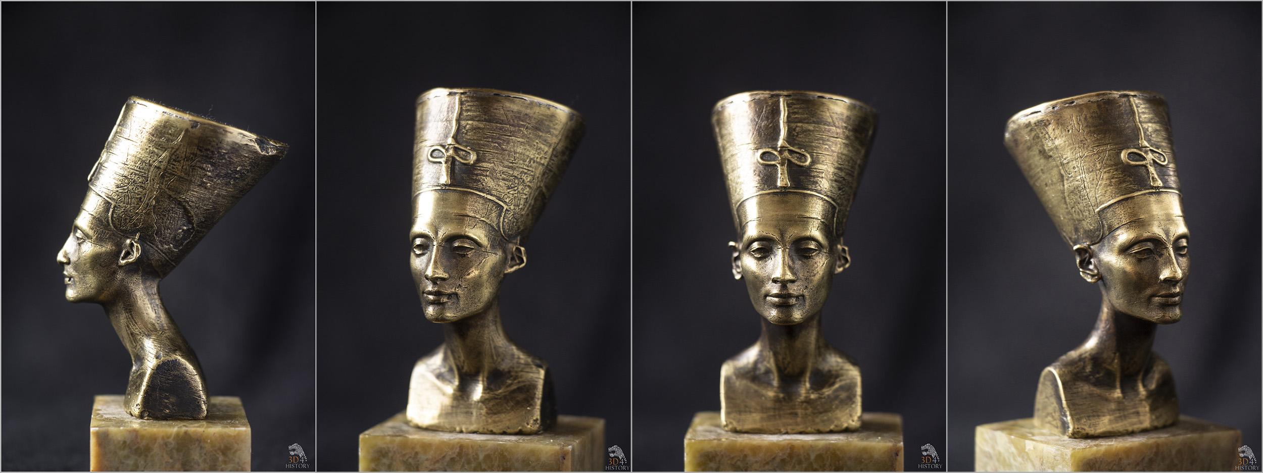 Nefertiti odlew