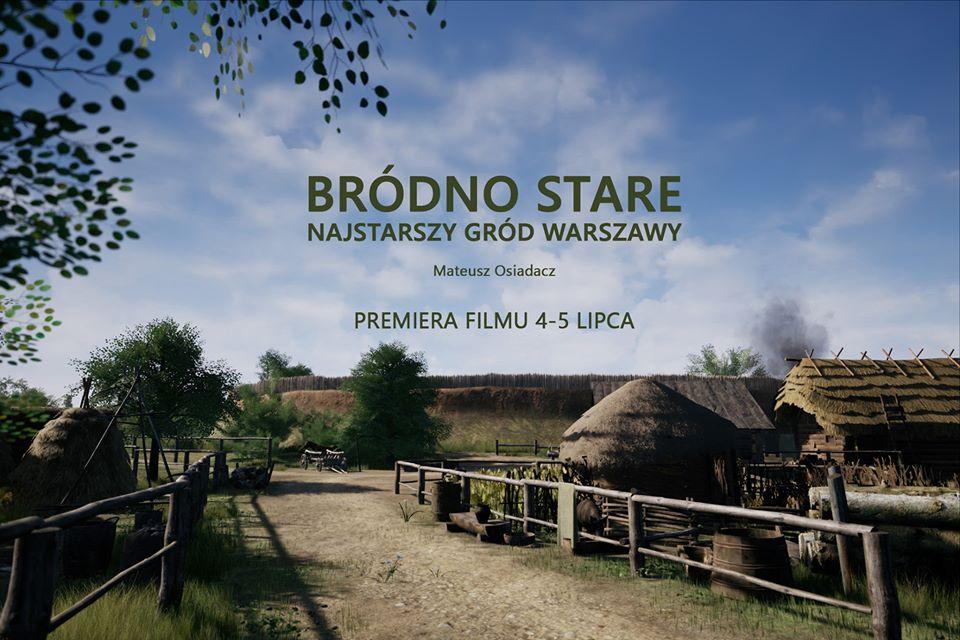 Rekonstrukcja grodu Bródno Stare – film