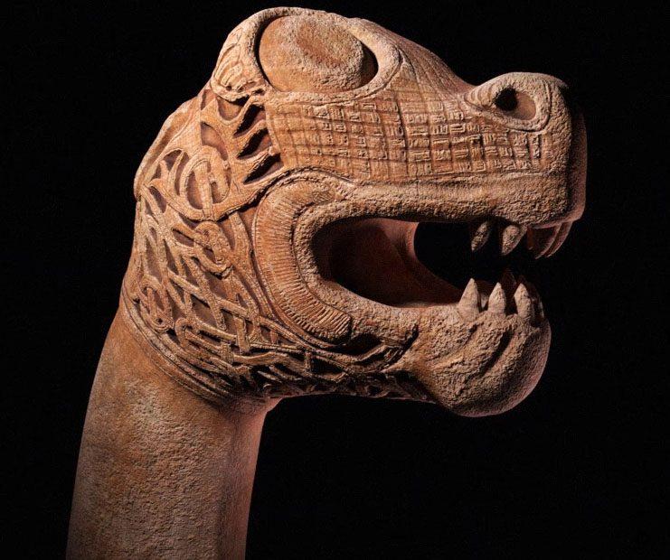 Oseberg Dragon 3D